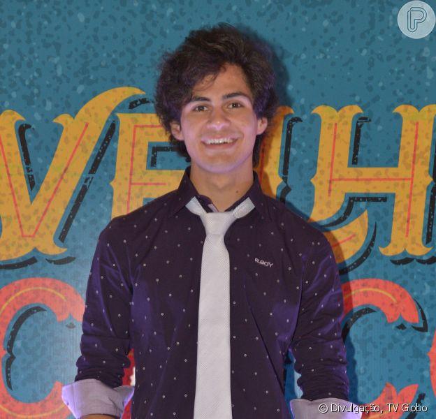 Lucas Veloso é filho de Shaolin e faz sua estreia na TV na novela 'Velho Chico'