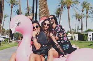 Bruna Marquezine e Thaila Ayala curtem festival na Califórnia: 'Partiu'. Vídeo!