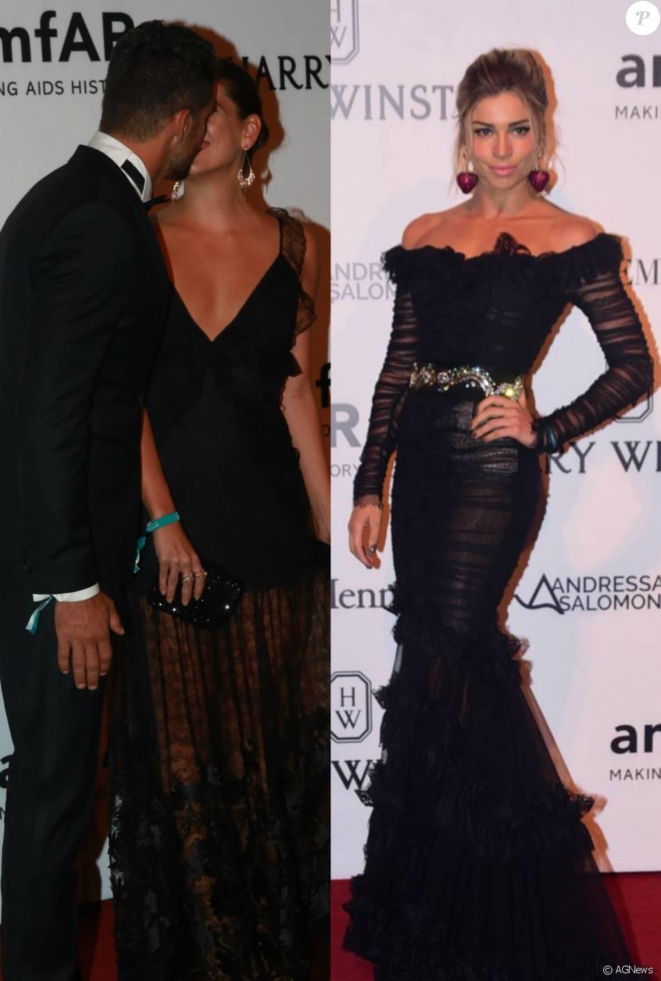 Cauã Reymond beijou a nova namorada, Mariana Goldfarb, em evento que também contou com a presença da sua ex-mulher e mãe de sua filha Grazi Massafera, na noite de sexta-feira, 15 de abril de 2016