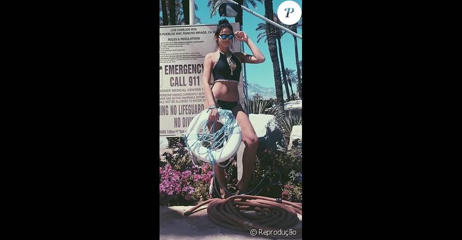 Bruna Marquezine repete biquíni de R$ 546 já usado por Gabriela Pugliesi