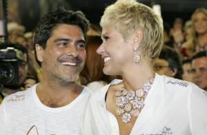 Xuxa conta onde deu o primeiro beijo no namorado, Junno Andrade: 'Na minha casa'