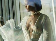 Rihanna deixa seio à mostra e surge de calcinha fio-dental em novo clipe. Fotos!