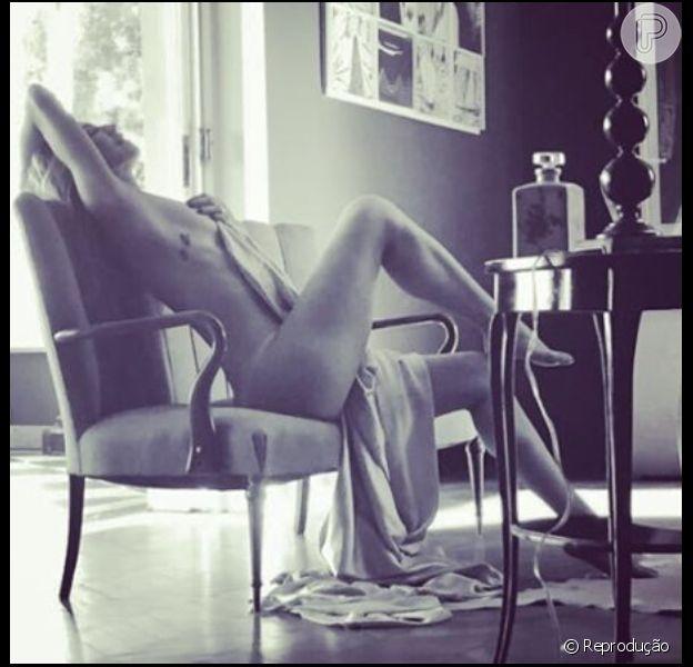 Luana Piovani aderiu a campanha 'Bela, recatada e do lar' e postou foto no instagram