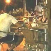 Juliana Paiva e Juliano Laham são fotografados juntos em restaurante no Rio