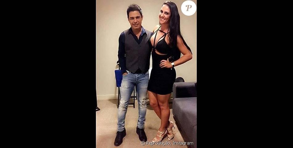 Zezé Di Camargo escreve bilhete romântico para Graciele Lacerda: 'Paixão imensa'