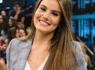 Camila Queiroz revela cuidados de beleza com os cabelos: 'Não penteio muito'