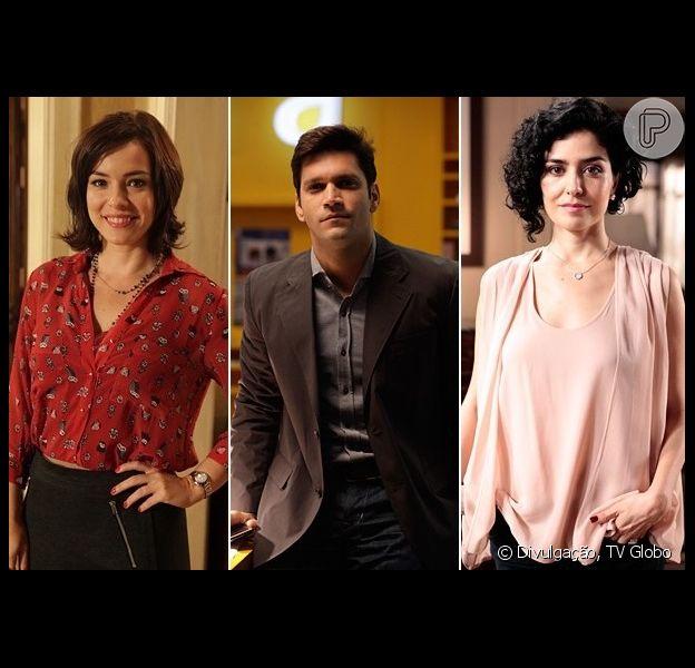 Érico (Armando Babaioff) pede Renata (Regiane Alves) em casamento e, como ela recusa, vai atrás de Verônica (Leticia Sabatella), em 'Sangue Bom'