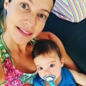 Luana Piovani posa com o filho Bem e fãs comentam semelhança: 'A sua cara'