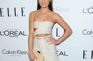 Lea Michele participa de evento de moda e assusta fãs com sua magreza