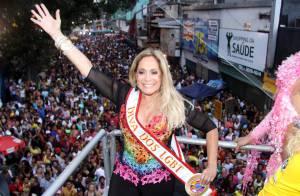 Susana Vieira é homenageada na Parada do Orgulho LGBT de Madureira: 'Pre-pa-ra!'
