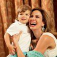 Em abril deste ano, Luciana posou com o filho caçula para a revista 'Contigo' e declarou: 'Não gosto de ficar grávida. Acho todo o processo um horror, engordei 27 quilos nas minhas duas gestações, é tudo bem difícil, mas acho incrível ser mãe. Talvez eu tenha outro filho. Talvez eu adote'