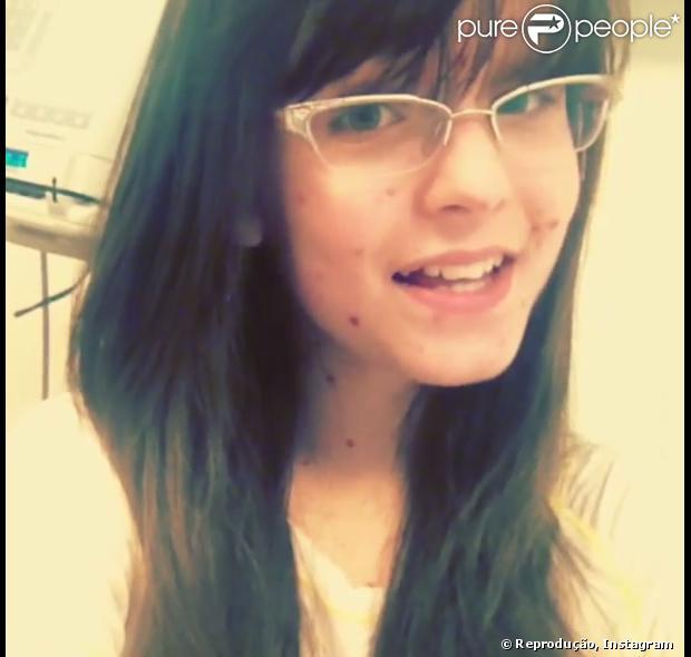 Larissa Manoela, com meningite viral e catapora, deixa a UTI de hospital em 29 de outubro de 2013
