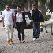 Naldo não fala com o filho, Pablo Jorge, no enterro da mãe: 'Nem olhou na cara'