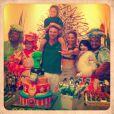 Cássio Reis comemorou o aniversário de 5 anos de Noah ao lado da ex-mulher, Danielle Winits
