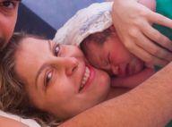 Veja 1ª foto de Theo Bem, segundo filho de Bárbara Borges: 'Bebezão olímpico'
