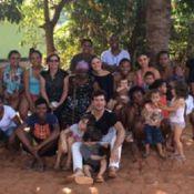 Sophie Charlotte e Daniel de Oliveira visitam quilombolas em MG: 'Casa aberta'