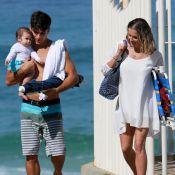 Deborah Secco elogia o marido, Hugo Moura, como pai: 'Troca fralda, faz tudo'