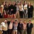Zezé Di Camargo foi homenageado pela namorada, Graciele Lacerda, e amigos em seu aniversário