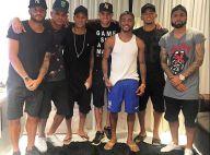Neymar curte festa na casa de Nego do Borel após vitória do Brasil na Rio 2016