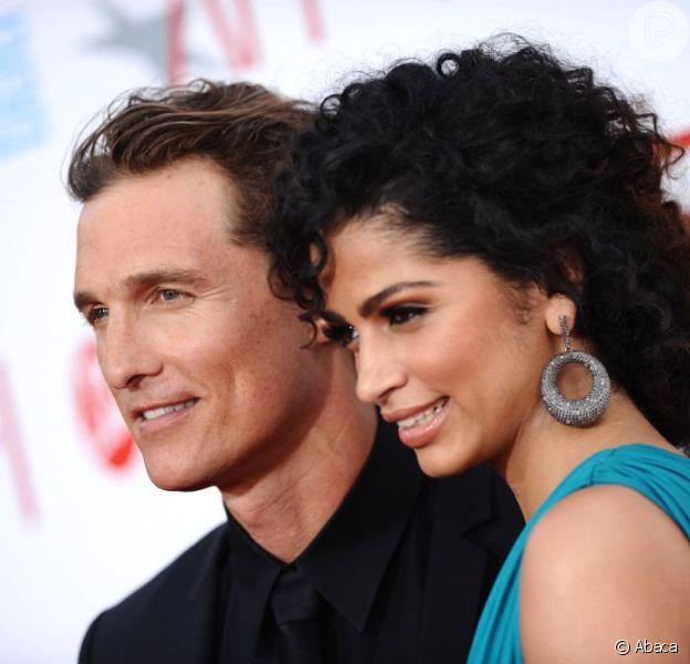 Matthew McConaughey e Camila Alves são papais pela terceira vez, em dezembro de 2012