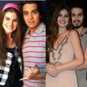 Luan Santana e Camila Queiroz surgem em foto antiga, após beijo:'Voltas da vida'