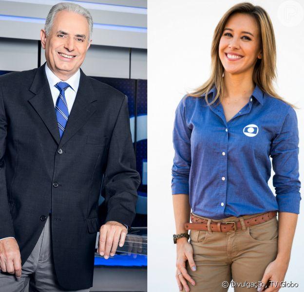 William Waack e Cris Dias teriam discutido antes do 'Jornal da Globo' entrar no ar, nesta quarta-feira 18 de agosto de 2016, quando se desentenderam ao vivo, e o jornalista teria até ameaçado não apresentar o telejornal