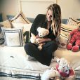 Rafa Brites postou uma foto no quartinho do bebê, que se chamará Rocco