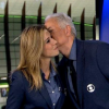 William Waack dá beijo em Cris Dias após clima pesar na cobertura da Rio 2016