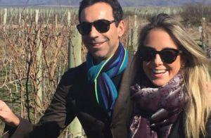 Ticiane Pinheiro curte final de semana na Argentina com Cesar Tralli: 'Especial'