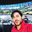 Ricardo Tozzi compareceu à cerimônia de encerramento das Olimpíadas Rio 2016