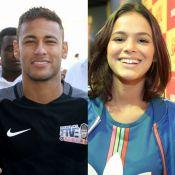Fãs apontam declaração de Neymar para Bruna Marquezine em show de Thiaguinho
