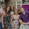 Tiago Leifert deixará o programa 'É de Casa', que seguirá com os apresentadores Ana Furtado, André Marques, Cissa Guimarães, Patrícia Poeta e Zeca Camargo