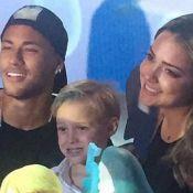 Neymar comemora 5º aniversário do filho, Davi Lucca: 'Parabéns'. Fotos e vídeos!