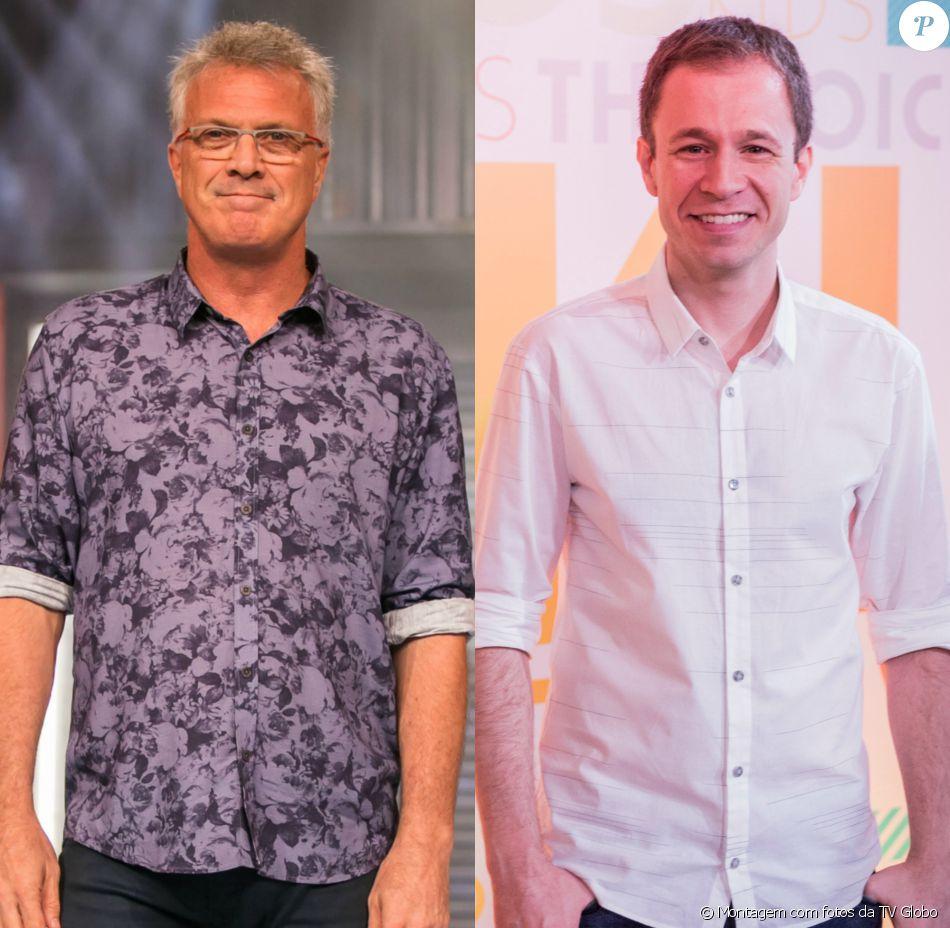 Pedro Bial aprovou nome de Tiago Leifert para apresentar o 'BBB 17': 'Talento extraordinário'