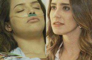 'Haja Coração': Camila fica em coma após ser empurrada do telhado por Bruna