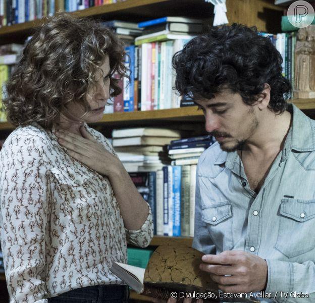 Na minissérie 'Justiça', Elisa (Debora Bloch) e Vicente (Jesuita Barbosa) vão se envolver, apesar dele ser o assassino da filha dela, Isabela (Marina Ruy Barbosa)