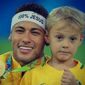 Neymar se declara para filho, Davi Lucca, em seu 5º aniversário: 'Papai te ama'