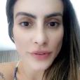 Cleo Pires critica polêmica sobre campanha para Paralimpíadas em seu Snapchat nesta quarta-feira, dia 24 de agosto de 2016