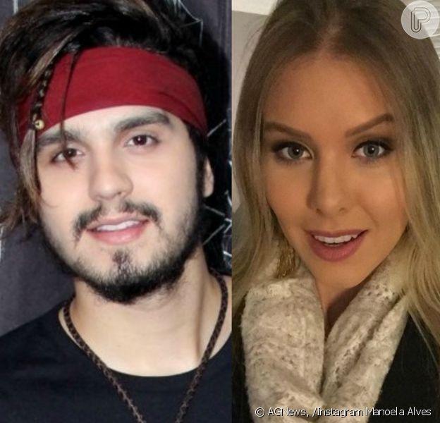 Luan Santana mantém namoro com a miss Manoela Alves às escondidas, diz o colunista Leo Dias, do jornal 'O Dia', nesta quinta-feira, 25 de agosto de 2016