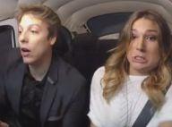 Sasha Meneghel bate fusca ao dirigir carro na TV, no programa de Fábio Porchat