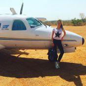 Fiorella Mattheis rebate críticas após foto em aeroporto de GO: 'Muito maldosos'