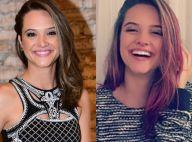 Juliana Paiva faz mechas rosas para filme 'O Homem Perfeito': 'Cabelo da Mel'