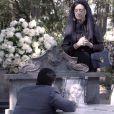 Em 'Êta Mundo Bom!', Osório (Arthur Aguiar) reafirma o seu amor por Gerusa (Giovanna Grigio) durante o enterro da jovem, que morre vítima de leucemia, e, em seguida, passa mal e perde a vida