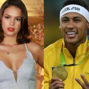Bruna Marquezine conferiu medalha de Neymar após ouro inédito: 'É pesada!'