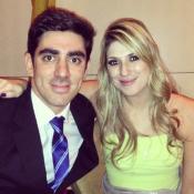 Dani Calabresa se orgulha de Marcelo Adnet em estreia: 'Programa do meu marido'