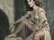 Paolla Oliveira posa com look decotado e transparente em ensaio. Veja Fotos!