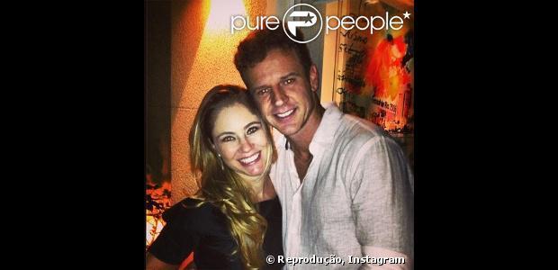 Juliana Baroni e o empresário paulista Eduardo Moreira terão uma menina, que se chamará Maria Eduarda