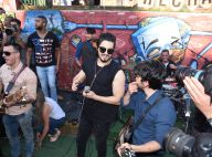 Luan Santana canta Capital Inicial em show surpresa em rua de SP. Fotos e vídeos