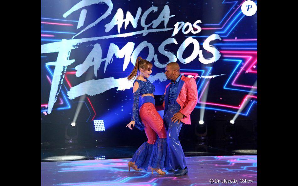 Nego do Borel fica em primeiro após primeiro dia do 'Dança dos Famosos', do 'Domingão do Faustão', em 28 de agosto de 2016
