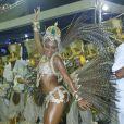 Para Quitéria Chagas, uma rainha de bateria tem que ter samba no pé, além de ser carismática e comprometida